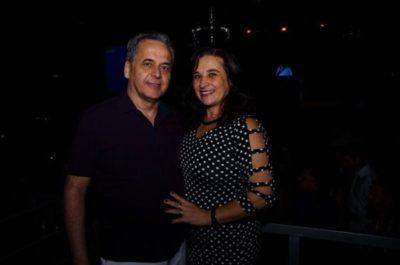 O médico Jorge Vidigal e Márcia Vidigal Pançardes, passam um mês em Paris
