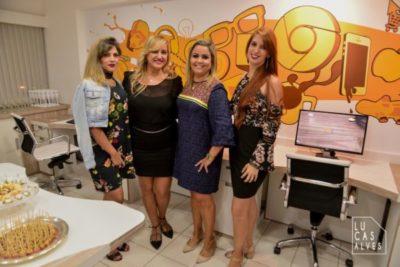 A Instablogger Raissa Briggs, Ana Paula Delgado, Ana Cristina Mendonça e Luciana Carvalho