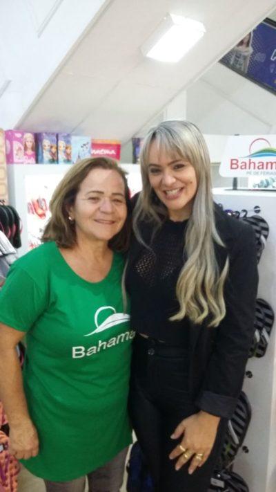 Geisa Rodrigues com a mãe, Josélia Rodrigues