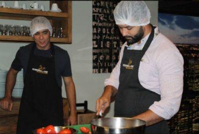 Viva a cozinha italiana, hoje no Escritório do Chef