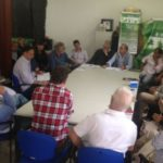 Encontro na manhã desta terça-feira reuniu o prefeito, moradores e lideranças comerciais locais (Foto: Divulgação PMR)