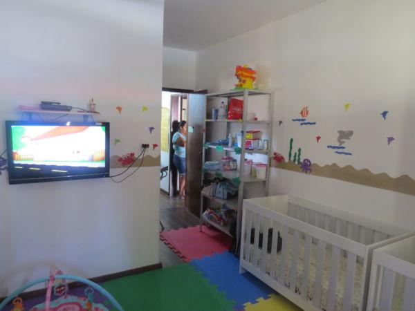 Berçário da creche municipal do Jardim Pollastri (Foto: Divulgação/Ascom PMQ)