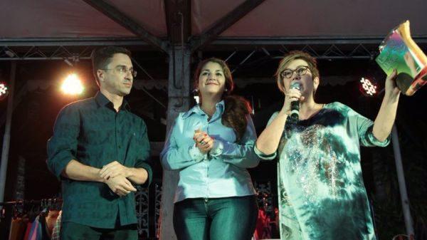 No palco: Ednardo apoiou espetáculo que fecha Semana de Conscientização do Autismo