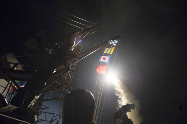 Surpresa: O USS Ross dispara contra a Síria