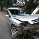 Acidente aconteceu nas proximidades da Saint Gobain, no bairro Barbará, em Barra Mansa