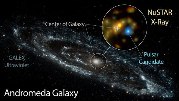 Longe: Andrômeda fica a dois milhões de anos luz da Terra