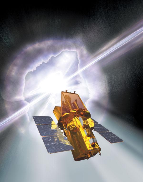 Preciso: O satélite Swift detectou a explosão nos confins do Universo
