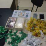 Droga apreendida foi levada para a Delegacia de Resende (foto: Cedida pela PM)