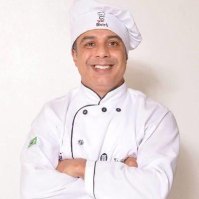 O chef Júlio Cesar Ferreira Ramos vai realizar a 'Volta ao Mundo Pelo Sabor'