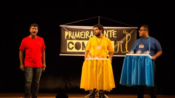 'PrimeiraMENTE Comédia': Espetáculo tem direção do grande humorista Paulinho Serra