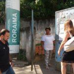Chegada: Vereador chega à Escola Roraima