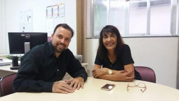 Diálogo: Laydson e a secretária de Educação tratam de melhorias para a rede municipal