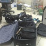 Diversos materiais usados para assaltar bancos e arrombar caixas eletrônicos foram apreendidos (foto: Cedida pela PRF)