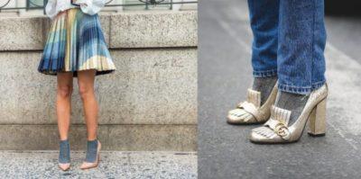 Use sua criatividade: Soquetes, coloridas, estampadas, lurex, as meias estão com tudo (Fotos: Divulgação)