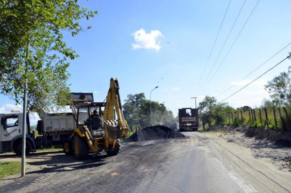 Prazo: Obras começaram há cerca de um mês e devem ser finalizadas em 90 dias (Dorinha Lopes/Ascom PMPR)