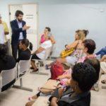 Para Samuca, as equipes da Saúde estão de parabéns e a expectativa agora é zerar toda a demanda reprimida ainda no primeiro semestre (Foto: Gabriel Borges/Ascom PMVR)