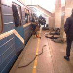 Metrô foi alvo de explosões provavelmente vinda do terror (Foto: Reprodução)