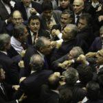 Deputados discutem no Plenário da Câmara após governo determinar reforço de tropas federais para proteger Esplanada