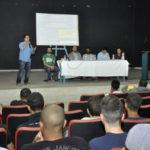 O principal tema do fórum que reuniu adolescentes de sete Cras foi 'Empreendedorismo Jovem' (foto: Geraldo Gonçalves - PMVR)