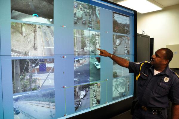 Ciosp Móvel: Monitoramento tem uma câmera especial que capta as imagens de todo o entorno em um raio de 300 metros (Foto: Divulgação/PMVR)