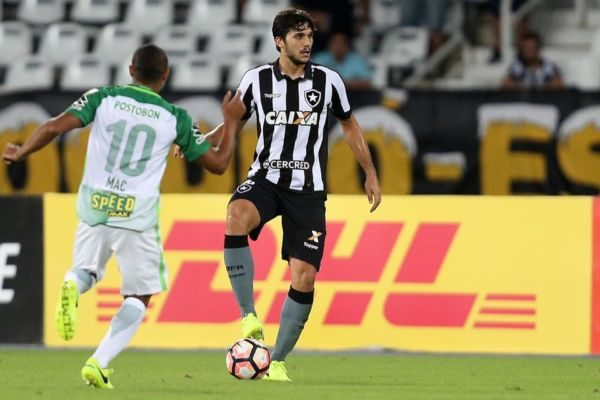 Botafogo tem também boa safra de atletas vindos da base (Vitor Silva/SSPress)