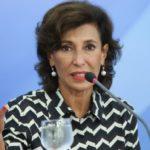 Brasília - A Presidente do BNDES, Maria Silvia Bastos Marques, e o Ministro Interino do Planejamento, Desenvolvimento e Gestão, Dyogo Oliveira, dão entrevista.(Elza Fiuza/Agência Brasil)