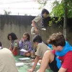 'Educação Escoteira': Finalidade do projeto é fortalecer a educação dos jovens escoteiros interagindo com os alunos das escolas inseridas no projeto (Foto: Júlio Amaral)