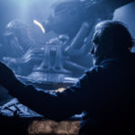 Pessimista: Ridley Scott no cenário do 'Alien: Covenant'