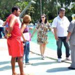 Fechado: Durante os últimos quatro meses e meio, diversas visitas técnicas foram realizadas no Parque Aquático de Volta Redonda (Foto: Gabriel Borges / Ascom VR)