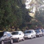 Motoristas fazem manifestação em Volta Redonda depois que um carro do Uber foi apreendido (foto: Enviada pelo WhatsApp)