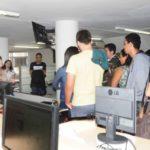 Visitantes: Alunos da Faculdade Canção Nova, de Cachoeira Paulista (SP), conheceram o DIÁRIO DO VALE na manhã desta segunda-feira (Foto: Franciele Bueno)