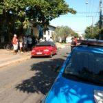 Veículo estava próximo ao Cais Conforto, na Rua 2 (Foto: Divulgação/José Roberto Mendonça/Destaque Popular)