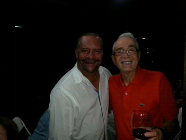 O jornalista Aurelio Paiva e o engenheiro Sérgio Sodré