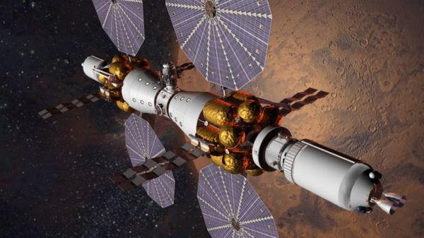Futuro: Nave para Marte será testada em 2028