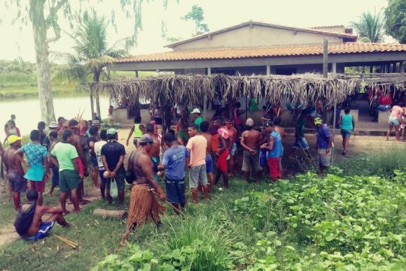 O ataque ocorreu no Povoado das Bahias, área de etnia gamelaCimi/Divulgação