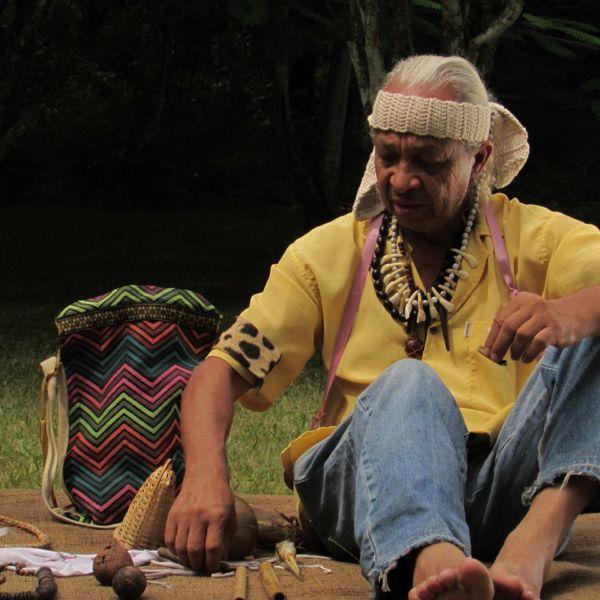 Uchô Kandú: Programação do festival inclui atrações artísticas e vivências indígenas com dois representantes da etnia Puri (Fotos: Divulgação)