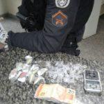 droga apreendida em resende - cedida pela pm