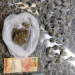 droga dentro de carro - itatiaia - pm