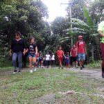 Desbravando a natureza: Caminhada é realizada pelo Ecomuseu e trilheiros vão conhecer patrimônios históricos e naturais da cidade (Divulgação/Ascom PMM)