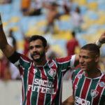 Ceifador: Henrique Dourado mostrou mais uma vez estar em boa fase e marcou duas vezes (Foto: Lucas Merçon/Fluminense F.C.)