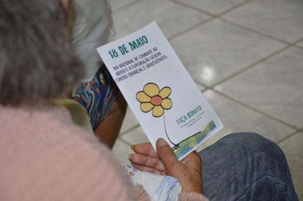 Ação tem como objetivo conscientizar as famílias sobre a importância de prevenir e denunciar esses crimes (Foto: Divulgação/Ascom PMPR)
