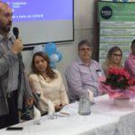 Abertura: Vice-prefeito de Volta Redonda, Maycon Abrantes, abriu as atividades do segundo dia da Semana da Enfermagem (Foto: Divulgação/Ascom PMVR)