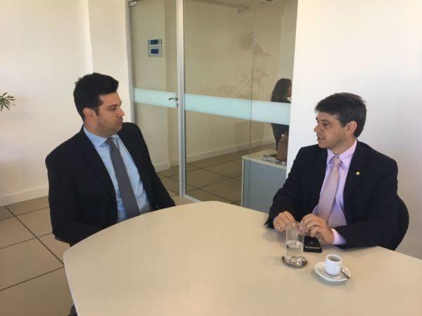 Encontro: Demandas dos municípios da região na área do esporte foram encaminhadas pelo deputado federal Alexandre Serfiotis ao Ministro Leonardo Picciani