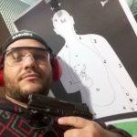 Nilton Cesar Souza Junior, 36 anos, estudou  numa escola de tiro (foto: Reprodução)