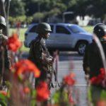 Tropas do Exército foram chamadas para fazer segurança da Esplanada recentemente