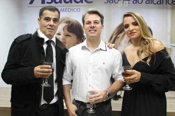 O médico Jorge Manes e a empresária e arquiteta Silvânia Pereira Moren
