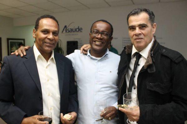Dilson Nascimento, Adilson Magno e o empresário Clodoaldo Moren