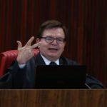 Brasília - O relator da ação, ministro Herman Benjamin, durante julgamento da chapa Dilma-Temer (Fabio Rodrigues Pozzebom/Agência Brasil)