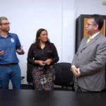 Mudança: Comunicado foi feito no gabinete do prefeito Rodrigo Drable e contou com a presença de todos os secretários (Foto: Chico de Assis/Ascom PMBM)
