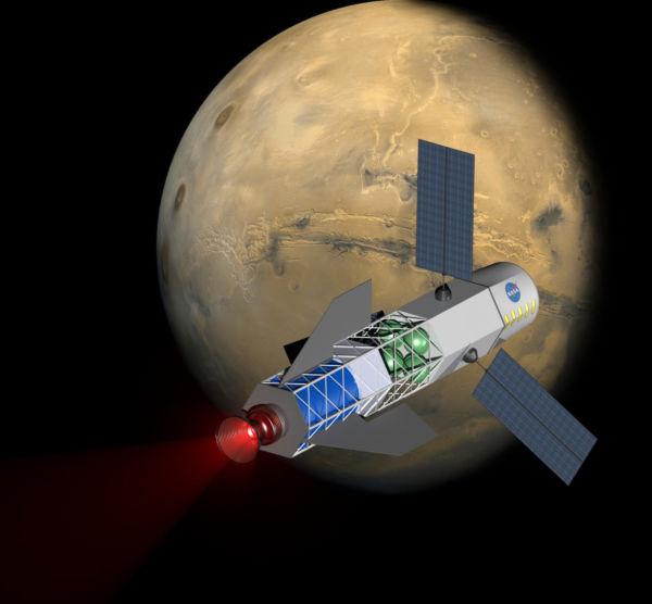 Fusão: Motor vai reduzir tempo de voo para Marte